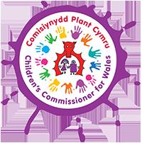 Hawlfraint Comisiynydd Plant Cymru - logo